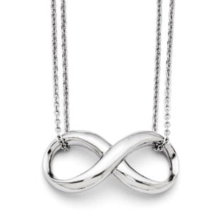 Pendants without stones plain pendants gold pendants from gemologica infinity symbol double strand stainless steel necklace 3900 aloadofball Gallery