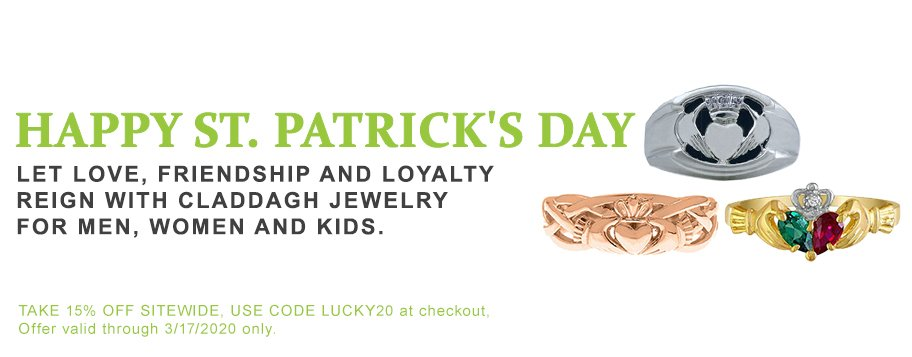 Saint Patricks Day Jewelry Gifts Claddagh Clover Jewelry