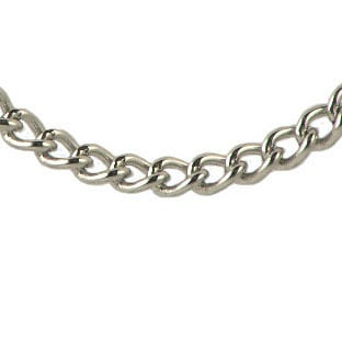 Men's Stainless Steel Link Chain Necklace