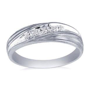 mens white gold diamond promise ring gemologica a fine