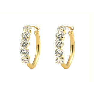 14K YELLOW GOLD HOOP EARRINGS ,>>>>>CLICK HERE FOR MORE