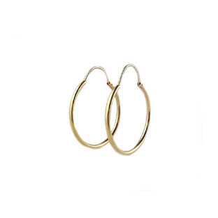 Gold Hoops, 14K Gold Hoop Jewelry